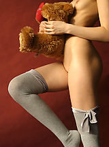 Stockings Pics: Naked Girls by MPL Studios