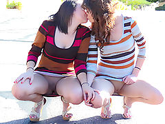Athena Mindy Kissing Cousins