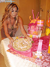 Demi and Kelly don't want birthday cake, they want a different kind of icing in their mouthes and on their faces.