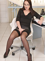 nylons stockings, Wendy Moon