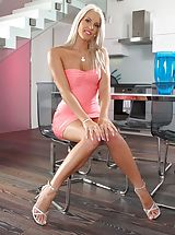 Hot Legs, Photo Scene No. 954 Sexy Girl Blanche Bradburry Undressed