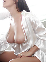 Busty Secretary, Holly Michaels