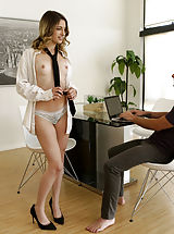 Naughty Office, Kristen Scott,Logan Pierce