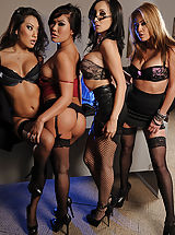 Asa Akira, Katsuni, London Keyes, Mia Lelani, Keiran Lee in Office 4-Play II: Asian Sensation