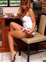 Asian Women sandra bae 06 kitchen secretary