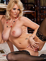 sexy stockings, Charlee Chase