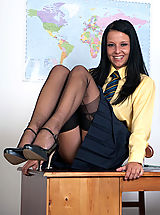 Sexy Secretaries, Kimmy - Using the 'C' word...in class!