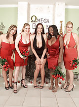 lingerie model, Gianna Rossi, Sabina Leigh, Panther, Tera Cox, April McKenzie