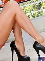 Stiletto Heels, Diamond Foxxx