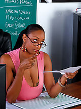 Legs, Carmen Hayes gets fucked on her desk