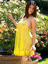 Asian Women natalia 15 negligee puffy nipples flowergirl big labia