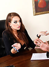 Nika Noir,Naughty Office,Will Powers, Nika Noir, Co-worker, Employee, Couch, Desk, Ass smacking, Big Dick, Big Tits, Blow Job, Brunette, Deepthroating, Facial, Fake Boobs, Foreign Accent, High Heels, Shaved, Stockings,