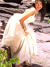 Asian Women amika 17 forest bride bridal lingerie