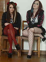 Open Legs, Jessica Rose and Samantha Bentley