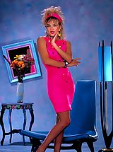 Between Legs, Jisel's a beautiful, california blonde with an amazing body - not only did she make Penthouse Pet but also crossed over to mainstream television.