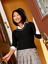 Naughty Office, Evelyn finds out where her professor Denis lives and wants to get fucked!