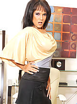 Anjanette Astoria, Black Anilos Anjanette Astoria pleasures herself with a magic wand
