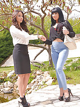 Red High Heels, Anissa Kate and Valentina Ricci