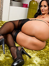 Blue High Heels, Ava Addams