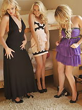 Hot Legs, Holly Gibbons and Kym Hodgson and Lucy-Anne Brooks