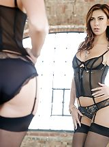 garter belt, Ani Black Fox, Charlie Dean