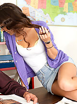 April O'Neil,Naughty Bookworms,Tommy Gunn, April O'Neil, Bad Girl, Student, Chair, Classroom, Desk, Great Natural Boobs, Huge Tits, Blow Job, Brunette, Facial, Glasses, high heel pumps, Natural Boobs, Tattoos,