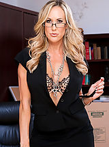 Brandi love teaches lessons on sucking dick and fucking.