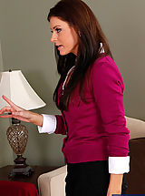 Hot Legs, Gorgeous MILF India Summer is horny and decides to get fucked by one of her sons friends.